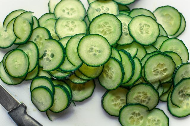 Cucumber Slices Fresh