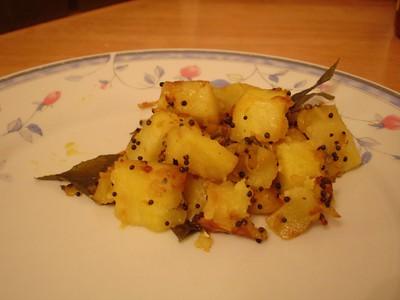 Spicy Chili Potato Curry