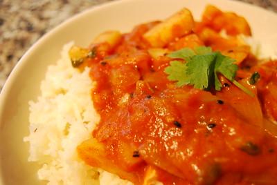 Potato paneer curry recipe