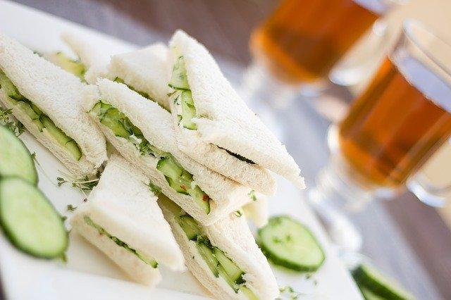 Simple Veg Sandwich