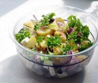How To Make Salad Potato