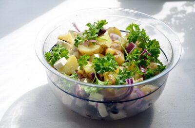 How To Make Salad Potato
