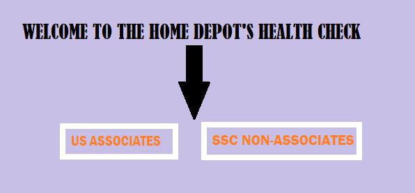 health check home depot
