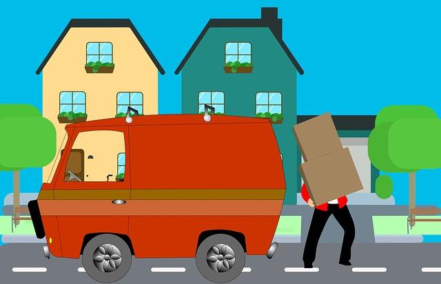 Shipping furniture